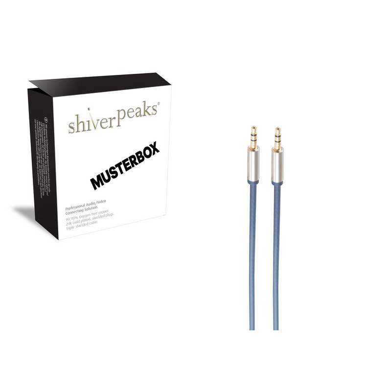 sp-PROFESSIONAL 2x 3,5mm Klinken-Stecker, 3,0m