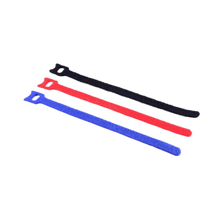 Kabelbinder 11 x 200mm, Klett-Verschluss 12er Set   kabelbude.eu