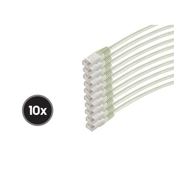Patchkabel cat 6 S/FTP PIMF HF VE10 1,0m