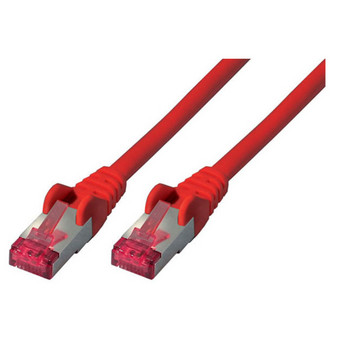 Patchkabel cat6A S/FTP PIMF Halogenfrei rot 025m