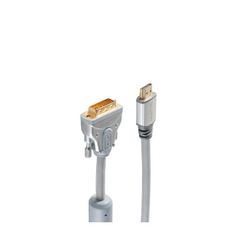 sp-HIGH-END-HDMI/ DVI-Anschlusskabel, LOSE, 1,0m
