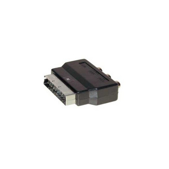 Scart-Adapter mit 3 Cinchkupplungen, IN