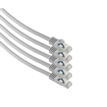 RJ45 Patchkabel m. CAT 7 Rohkabel  PIMF 1m