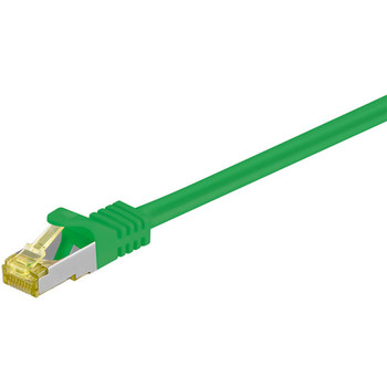RJ45 Patchkabel m. CAT 7 Rohkabel  LS0H  S/FTP PIM