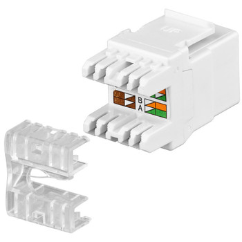 KeyStone Jack CAT 5e<br/>RJ45, LSA, UTP, SNAP-IN