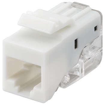 KeyStone Jack CAT 5e<br/>RJ45, toolless, UTP, SNAP-