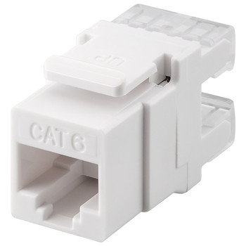 KeyStone Jack CAT 6<br/>RJ45, LSA, UTP, SNAP-IN
