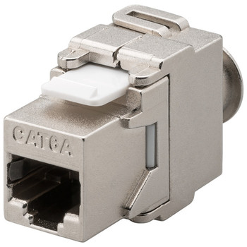 KeyStone Jack CAT 6a  500MHz--RJ45, Toolless